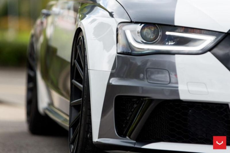 Audi A4 RS4 B8 Tuning Camouflage 20 Zoll Vossen VFS-2 Wheels (33)