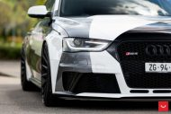 Audi A4 RS4 B8 Tuning Camouflage 20 Zoll Vossen VFS 2 Wheels 43 190x127 Mega heftig   Audi A4 RS4 B8 auf 20 Zoll Vossen VFS 2 Wheels