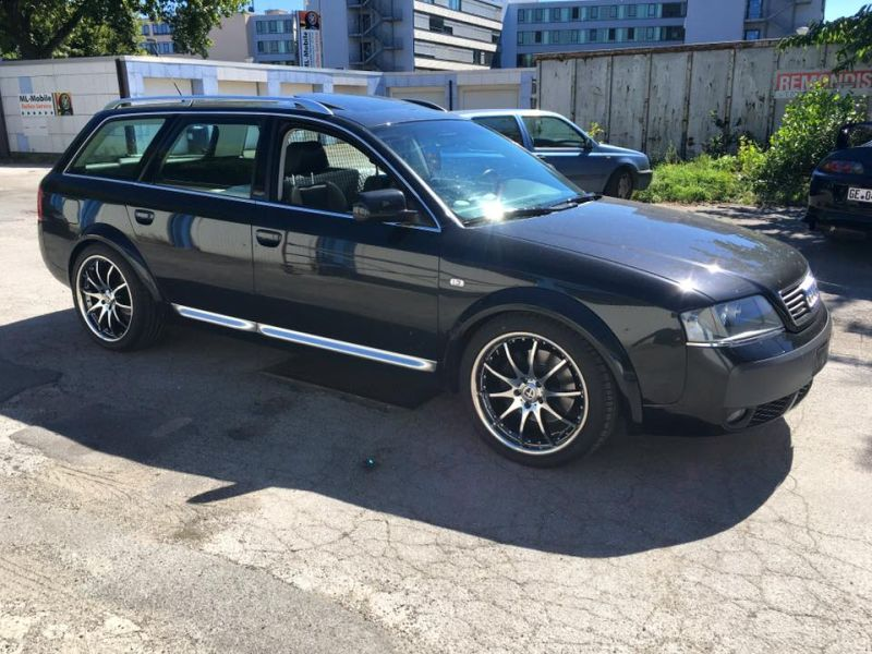Audi A6 4B Allroad Tomason TN8 Tuning 1 Up to Date   Audi A6 4B Allroad auf Tomason TN8 Alu's