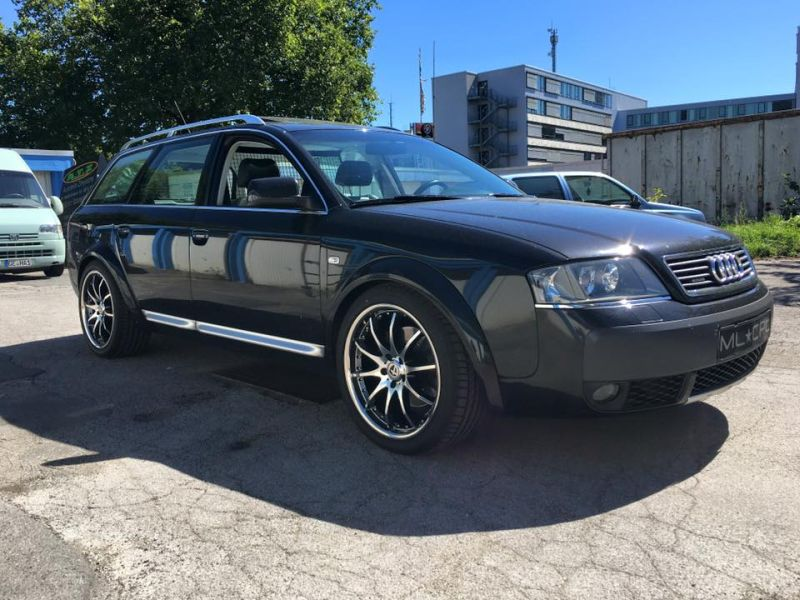 Audi A6 4B Allroad Tomason TN8 Tuning 2 Up to Date   Audi A6 4B Allroad auf Tomason TN8 Alu's