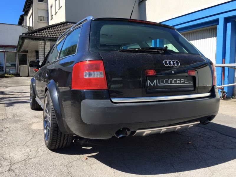 Audi A6 4B Allroad Tomason TN8 Tuning 4 Up to Date   Audi A6 4B Allroad auf Tomason TN8 Alu's