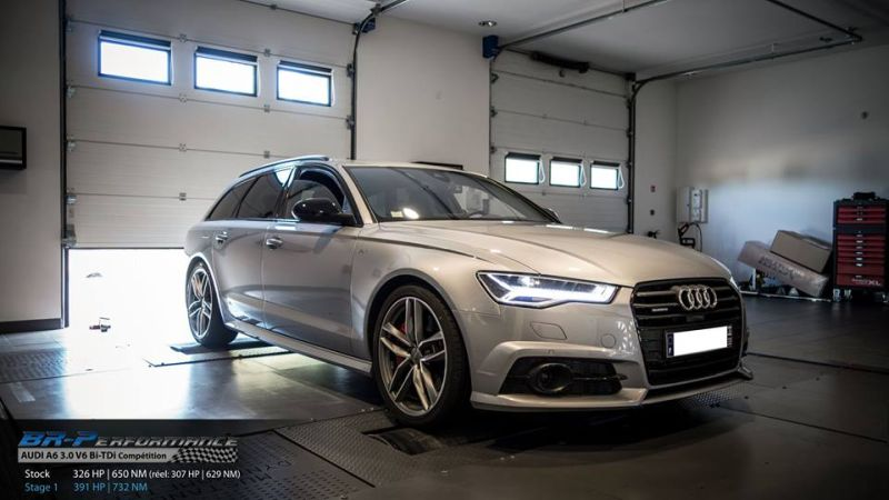 Audi A6 4G 3.0 V6 Bi TDi Competition Chiptuning 391PS 732NM 2 Audi A6 4G 3.0 V6 Bi TDi Competition mit 391PS & 732NM