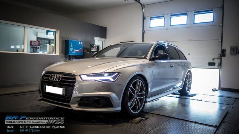 Audi A6 4G 3.0 V6 Bi TDi Competition Chiptuning 391PS 732NM 4 Audi A6 4G 3.0 V6 Bi TDi Competition mit 391PS & 732NM
