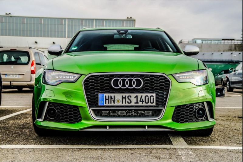Audi A6 C7 RS6 Avant Javagreen Tuningblog.eu 1 Widebody Audi A6 C7 RS6 Avant in Javagreen by tuningblog.eu