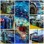 Audi R8 LMS Distributor Rutronik Art Car Tuning 2016 1 190x190 Fotostory: 2016er Audi R8 LMS Art Car mit 585PS & 550NM