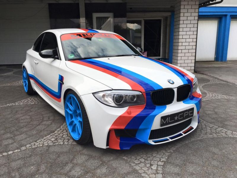 BMW 1M E82 CoupC3A9 TuningTuner ML Concept HR Motec Folierung 1 Extrem