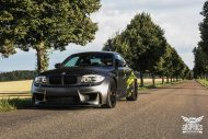 BMW 1M E82 Satin Matt yellow Folierung mtchbx 3 190x127 Richtig schick   BMW 1M E82 Coupe in Satin Matt by Schwabenfolia