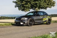 BMW 1M E82 Satin Matt yellow Folierung mtchbx 7 190x127 Richtig schick   BMW 1M E82 Coupe in Satin Matt by Schwabenfolia