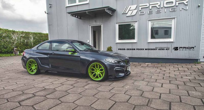 BMW 2ER F22 Tuning Prior Design PD2XX Widebody Kit 1 BMW 2ER (F22) mit Prior Design PD2XX Widebody Kit
