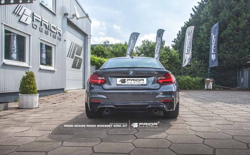 BMW 2ER F22 Tuning Prior Design PD2XX Widebody Kit 2 BMW 2ER (F22) mit Prior Design PD2XX Widebody Kit