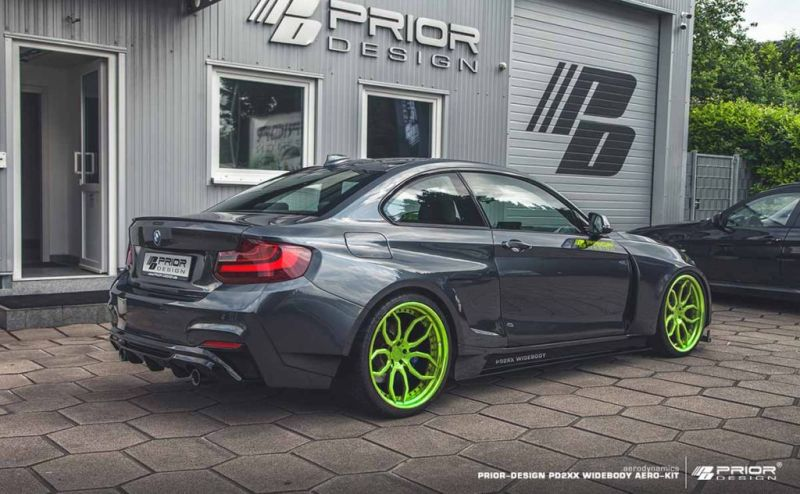 BMW 2ER F22 Tuning Prior Design PD2XX Widebody Kit 3 BMW 2ER (F22) mit Prior Design PD2XX Widebody Kit