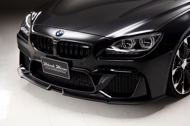 BMW 6er Gran Coup%C3%A9 F06 F12 mit Black Bison Bodykit Tuning Wald Internationale 2 BMW 6er Gran Coupé mit Black Bison Bodykit von Wald Internationale
