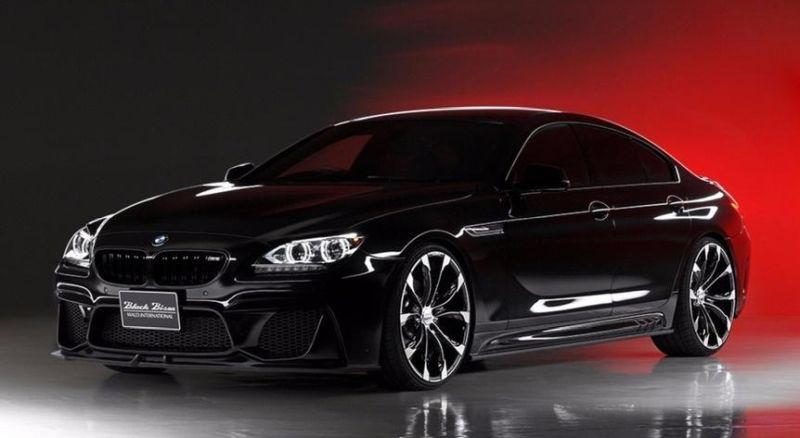 BMW 6er Gran Coup%C3%A9 F06 F12 mit Black Bison Bodykit Tuning Wald Internationale 3 BMW 6er Gran Coupé mit Black Bison Bodykit von Wald Internationale