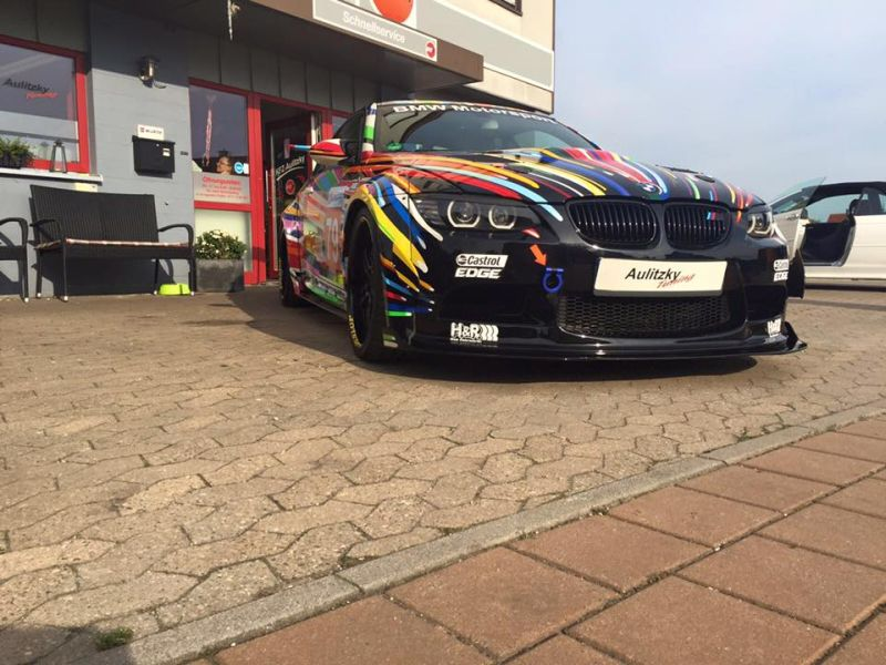 BMW E92 M3 Widebody Coupe Aulitzky 6 Fotostory: BMW E92 M3 Widebody Coupe mit ArtCar Style