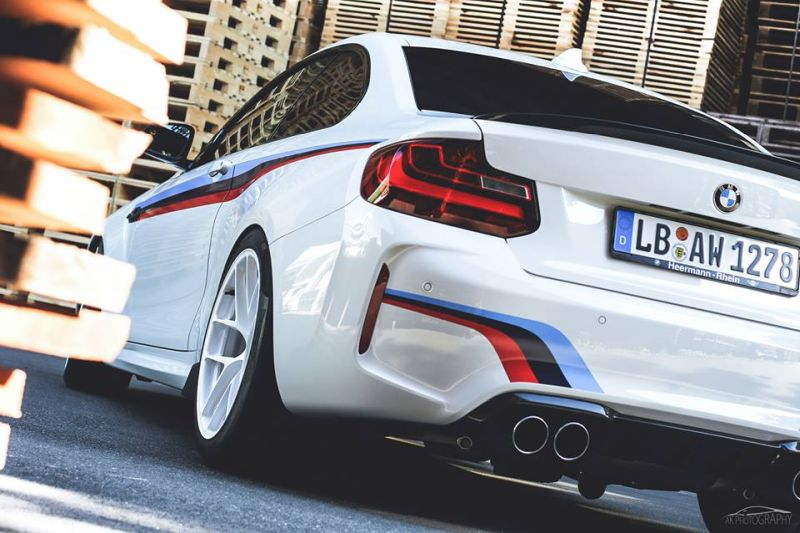 BMW M2 F87 Coupe HRE R101 LightWeight Tuning (1)