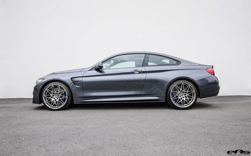 BMW M4 F82 Coupe Competition Package Tuning EAS Mineralgrau 1 BMW M4 F82 Coupe Competition Package mit Tuning by EAS