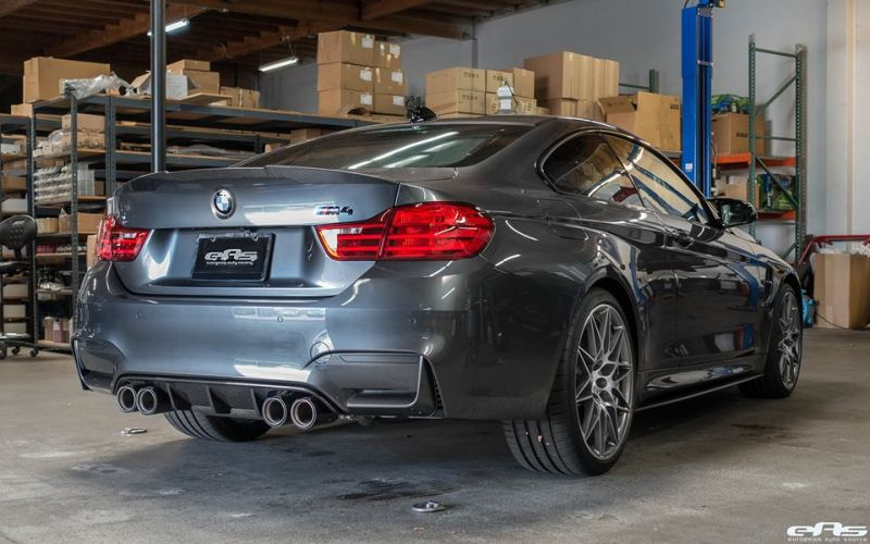 BMW M4 F82 Coupe Competition Package Tuning EAS Mineralgrau (10)