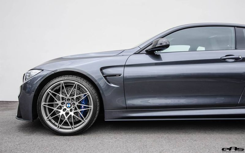 BMW M4 F82 Coupe Competition Package Tuning EAS Mineralgrau 2 BMW M4 F82 Coupe Competition Package mit Tuning by EAS