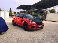 BMW X6 E71 Widebody Prior Hamann Tuning 1 190x143 Fett   BMW X6 E71 Widebody Umbau by FL Exclusive Carstyling