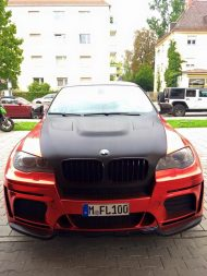 BMW X6 E71 Widebody Prior Hamann Tuning 4 190x253 Fett   BMW X6 E71 Widebody Umbau by FL Exclusive Carstyling