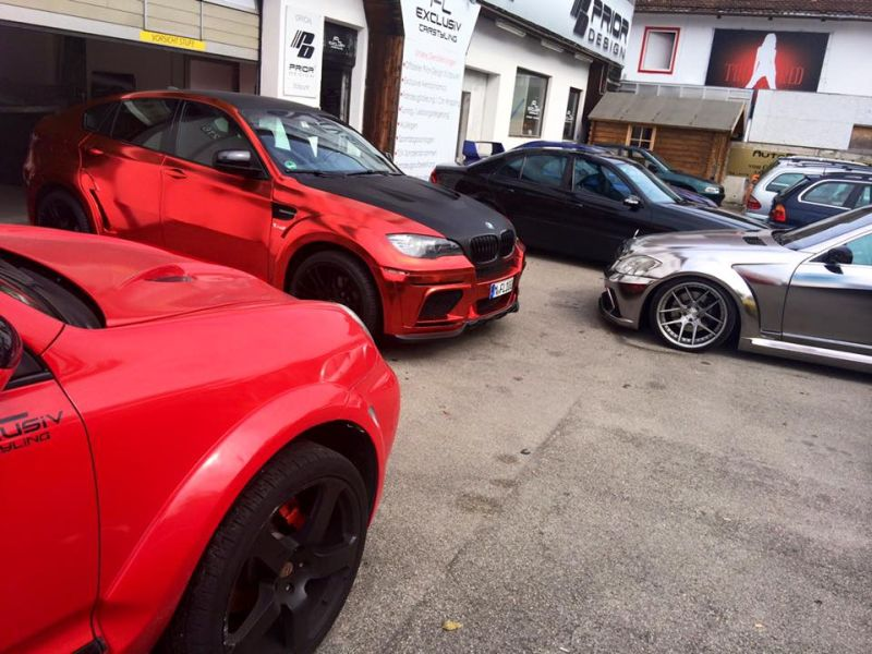 BMW X6 E71 Widebody Prior Hamann Tuning (6)