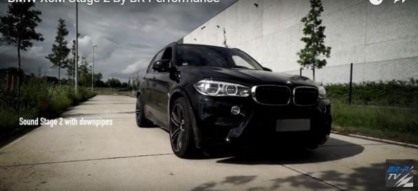 BR Performance BMW X5M F85 SUV 720PS im BR Performance BMW X5M F85 SUV