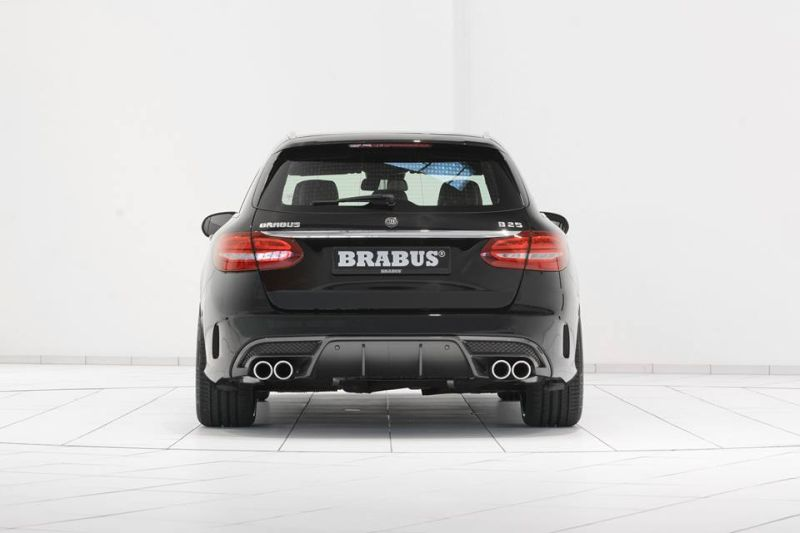 brabus aerodynamik mercedes c klasse w205 s205 tuning 7. Black Bedroom Furniture Sets. Home Design Ideas