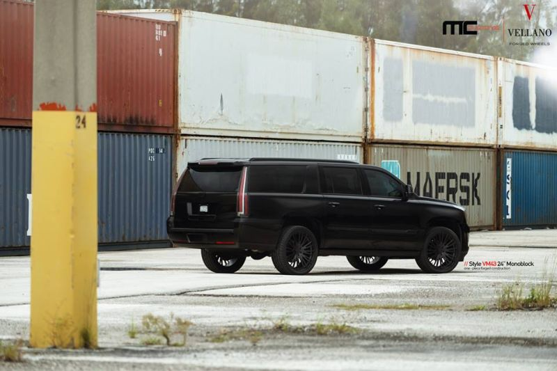 Cadillac Escalade Tuning 24 Zoll VM43 Tuning MC Customs (10)