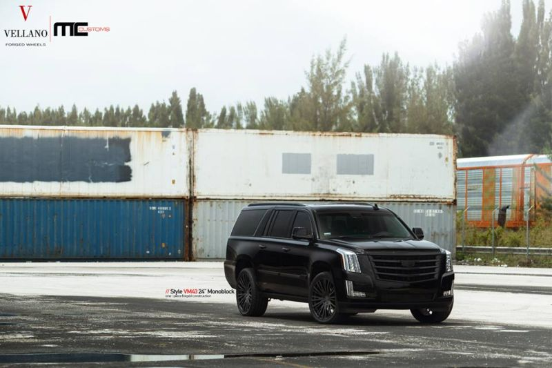 Cadillac Escalade Tuning 24 Zoll VM43 Tuning MC Customs (3)
