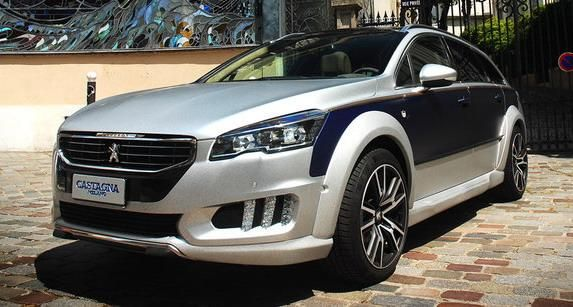 Castagna Milano Peugeot 508 RXH Tuning 2016 1 Fotostory: Castagna Milano   edler Peugeot 508 RXH