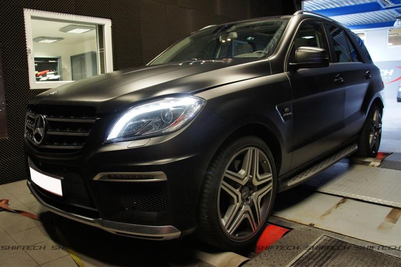 Chiptuning ShifTech Mercedes Benz ML63 AMG 1 619PS & 893NM im ShifTech Mercedes Benz ML63 AMG