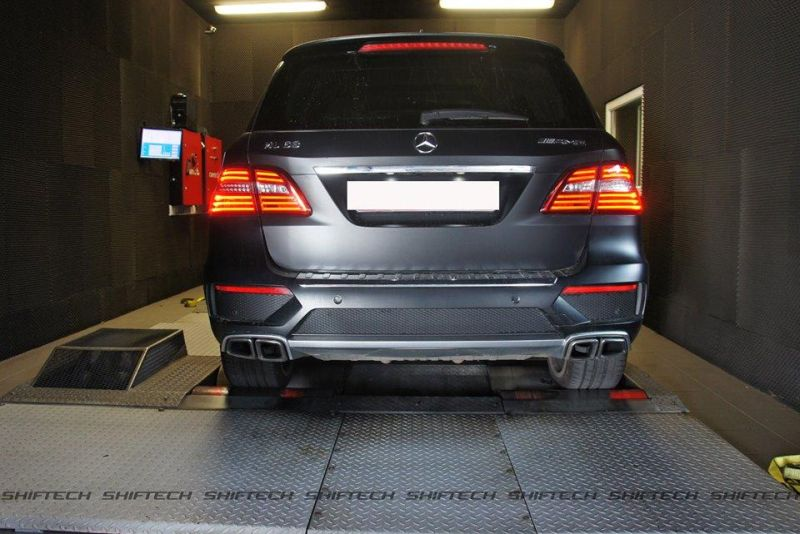 Chiptuning ShifTech Mercedes Benz ML63 AMG 2 619PS & 893NM im ShifTech Mercedes Benz ML63 AMG