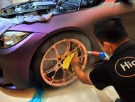 EDO Design BMW M4 F82 Mattlila Purpe FlipFlop Wrap Tuning 10 190x143 Fotostory: EDO Design BMW M4 F82 in Mattlila Purpel