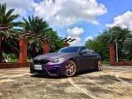 EDO Design BMW M4 F82 Mattlila Purpe FlipFlop Wrap Tuning 2 1 190x143 Fotostory: EDO Design BMW M4 F82 in Mattlila Purpel