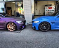 EDO Design BMW M4 F82 Mattlila Purpe FlipFlop Wrap Tuning 28 190x154 Fotostory: EDO Design BMW M4 F82 in Mattlila Purpel