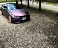 EDO Design BMW M4 F82 Mattlila Purpe FlipFlop Wrap Tuning 3 190x159 Fotostory: EDO Design BMW M4 F82 in Mattlila Purpel