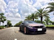 EDO Design BMW M4 F82 Mattlila Purpe FlipFlop Wrap Tuning 34 190x143 Fotostory: EDO Design BMW M4 F82 in Mattlila Purpel
