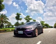 EDO Design BMW M4 F82 Mattlila Purpe FlipFlop Wrap Tuning 4 190x150 Fotostory: EDO Design BMW M4 F82 in Mattlila Purpel
