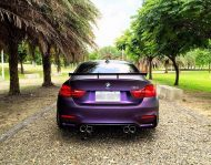 EDO Design BMW M4 F82 Mattlila Purpe FlipFlop Wrap Tuning 7 190x149 Fotostory: EDO Design BMW M4 F82 in Mattlila Purpel