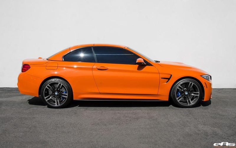 Fire Orange BMW M4 F83 Cabrio EAS Tuning 1 Fire Orange lackiertes BMW M4 F83 Cabrio von EAS Tuning