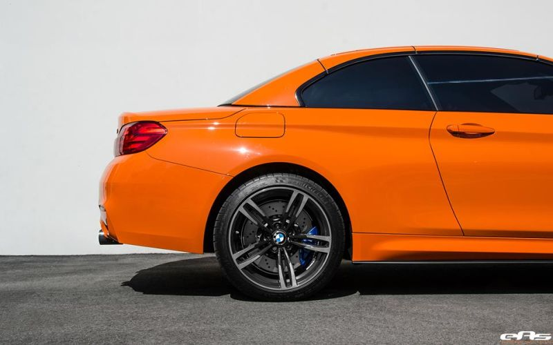 Fire Orange BMW M4 F83 Cabrio EAS Tuning 2 Fire Orange lackiertes BMW M4 F83 Cabrio von EAS Tuning