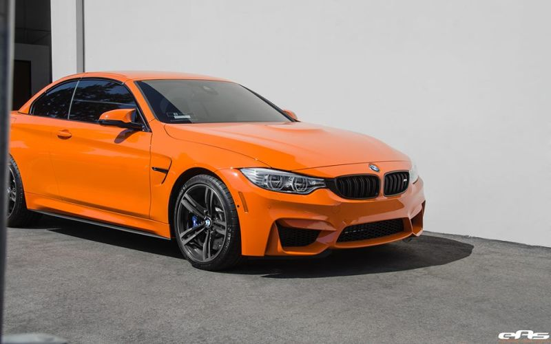 Fire Orange BMW M4 F83 Cabrio EAS Tuning 4 Fire Orange lackiertes BMW M4 F83 Cabrio von EAS Tuning