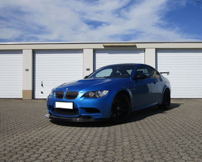 GT4 Style BMW M3 E92 Coupe Tuning Alpha N Performance 1 GT4 Style am BMW M3 E92 Coupe von Alpha N Performance