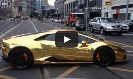 Gold Crew on Tour Lambo Ferrari Nissan Tuning Video: Die Gold Crew on Tour   Lambo, Ferrari & Nissan
