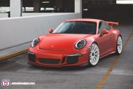 HRE P200 Tuning Porsche 911 991 GT3 Satin Lava Orange 1 1 190x127 Super schick   HRE P200 Alu's am Porsche 911 GT3 in Satin Lava Orange