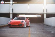 HRE P200 Tuning Porsche 911 991 GT3 Satin Lava Orange 4 190x127 Super schick   HRE P200 Alu's am Porsche 911 GT3 in Satin Lava Orange