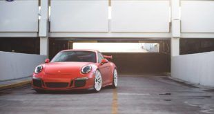 HRE P200 Tuning Porsche 911 991 GT3 Satin Lava Orange (4)