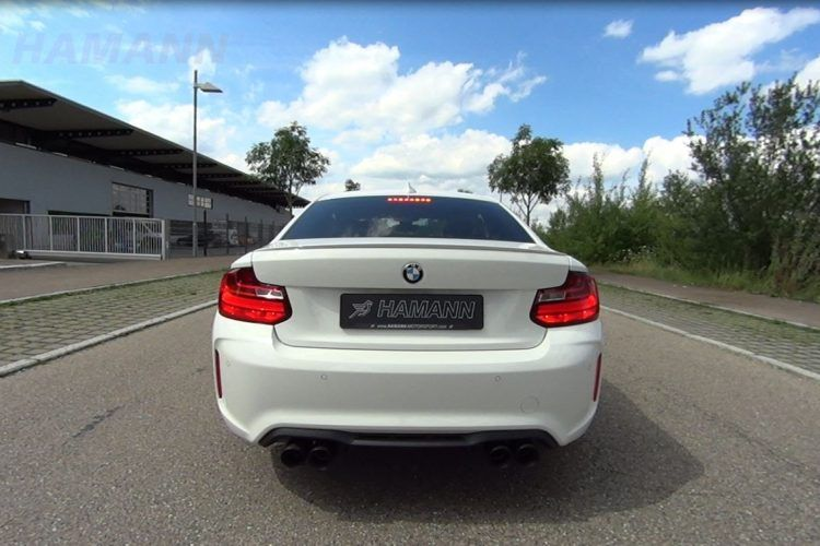 Hamann Sportauspuff BMW M2 F87 Coupe Tuning Video: Soundcheck   Hamann Sportauspuff am BMW M2 F87 Coupe