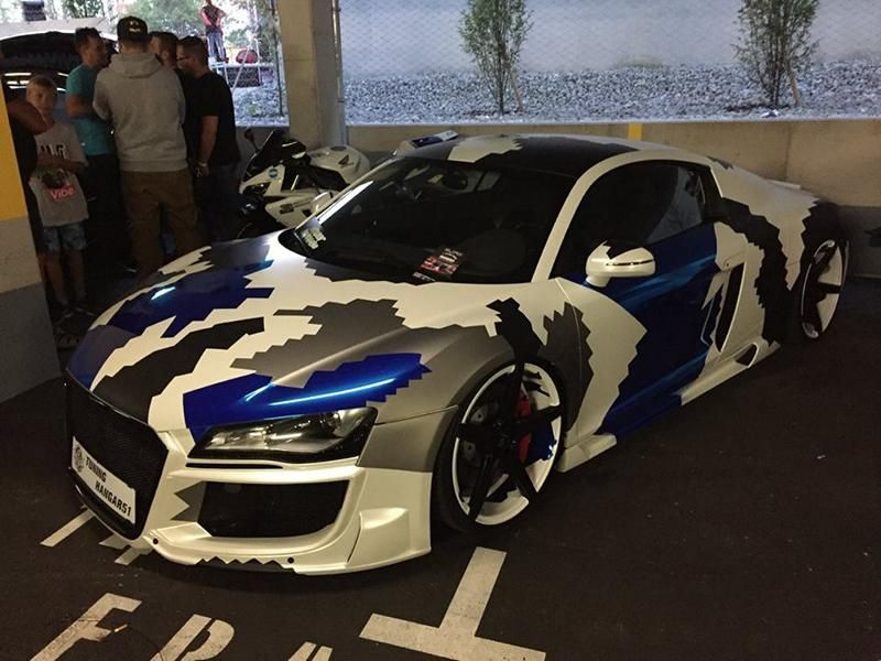 Hatzer Summer Night 2016 BB-Folien Bele Boštjan Tuning Folierung Wrap BMW Audi Ferrari VW (4)