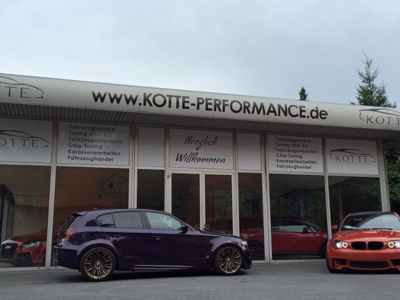 Kotte Performance BMW 1M Style E87 N54 Single Turbo Tuning 1 Fotostory: Noch einer   Kotte Performance BMW 1M Style E87